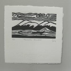 New Zealand art for sale Margaret White Towards Roundhill