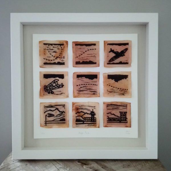 Margaret White Art Gallery Tea Bag Art