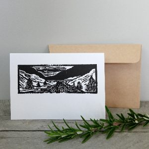 Handmade Greeting Cards New Zealand Margaret White Art River Bridge