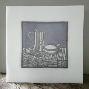 Art for tea lovers Milk jug and water jug