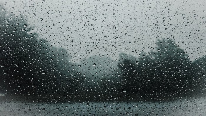 Rain out the window