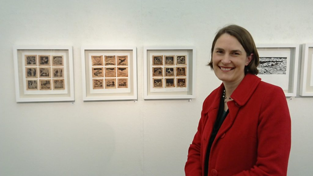 Making An Impression Exhibition Te Huanui Gallery Margaret White Art
