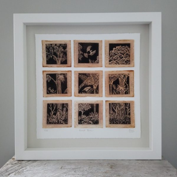 New Zealand Forest Art by Margaret White Printmaker