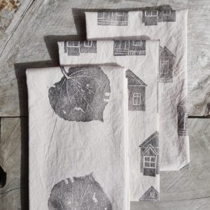 Margaret White Art Tea Towels