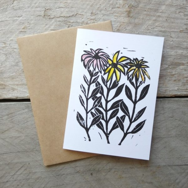 Margaret White Art Greeting Card Daisies