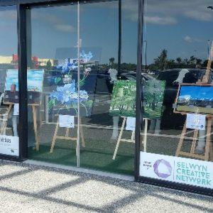Windows on Art Rolleston Selwyn Artists