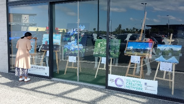 Windows on Art Rolleston Selwyn Artists