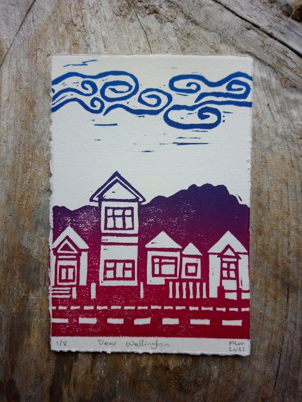 Wellington Postcard art print