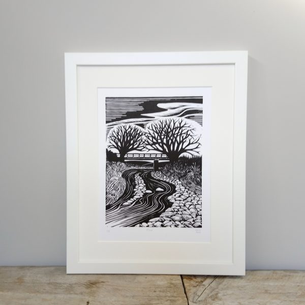 Canterbury Plains Artwork - Margaret White Art - River Scene