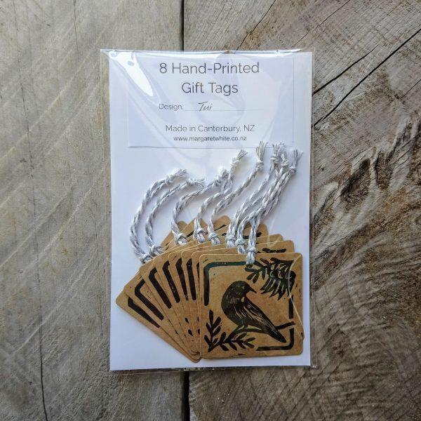 Margaret White Art New Zealand Gift Tag Tui